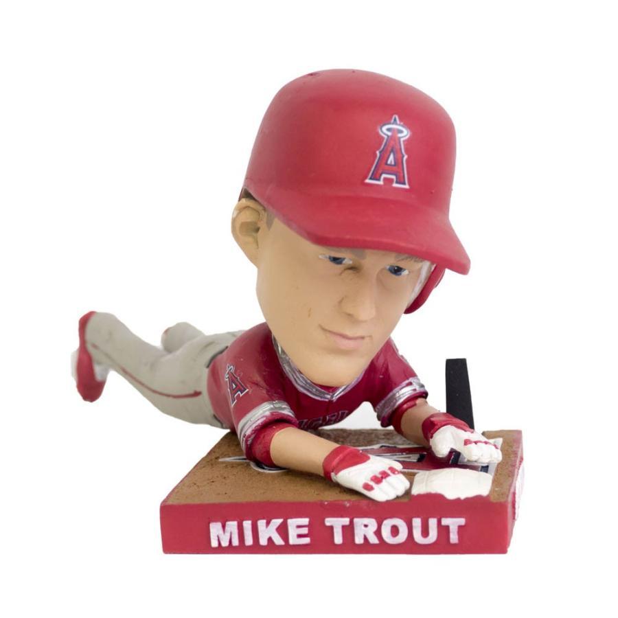 MLB エンゼルス マイク・トラウト フィギュア ボブルヘッド/フィギュア 2016 MVP【1909プレミア】