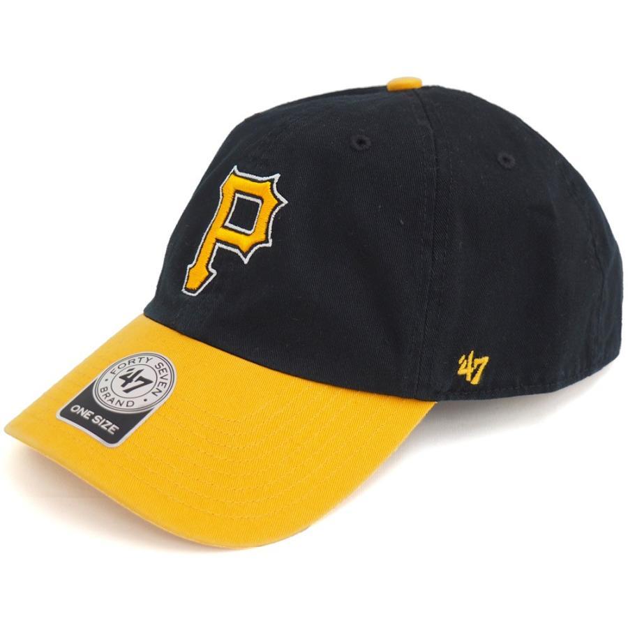 MLB パイレーツ キャップ 帽子 ゴールド 47ブランド Cleanup Adjustable キャップ【0702価格変更)】