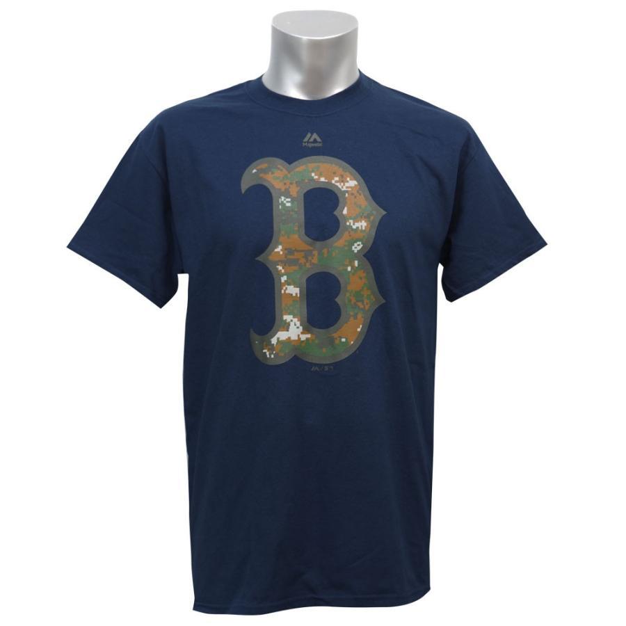 MLB レッドソックス 2016 メモリアルデー ロゴ Tシャツ マジェスティック/Majestic【9月セール解除】