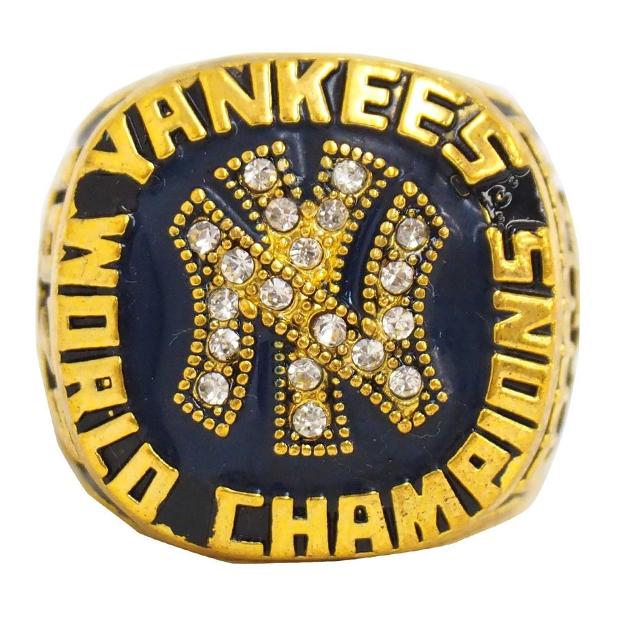 MLB ヤンキース 1977 ワールドシリーズ レプリカチャンピオンリング SGA レアアイテム【1910価格変更】