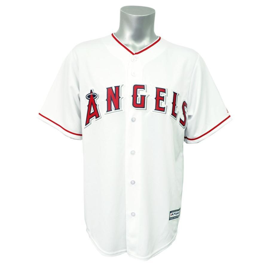 特別セーフ 【サンサンSALE】MLB エンゼルス クールベース レプリカ ゲーム ユニフォーム/ユニホーム マジェスティック/Majestic ホーム, えびとチーズの専門店 しまひで 387af8bf