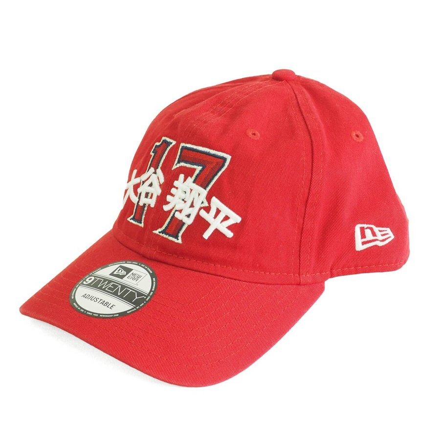 MLB エンゼルス 大谷翔平 キャップ 帽子 ジャパニーズ ダイナシティ ニューエラ/New Era 【18112WAYセール】