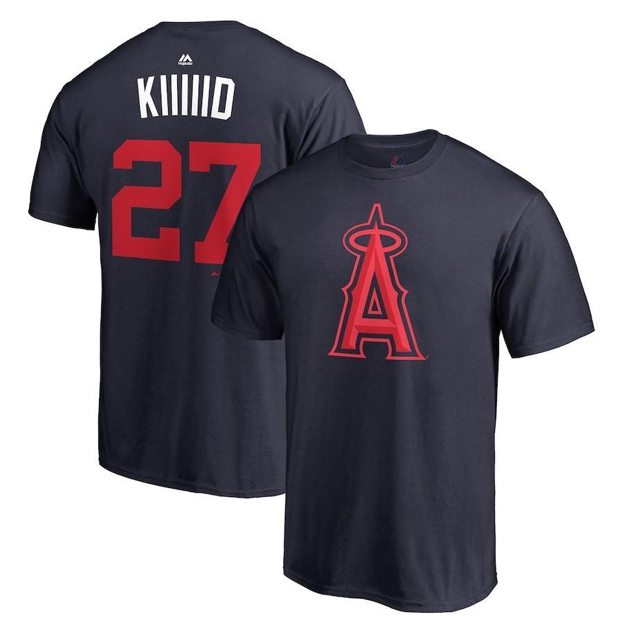 MLB エンゼルス マイク・トラウト Tシャツ 2018 プレーヤーズ・ウィークエンド ネーム&ナンバー