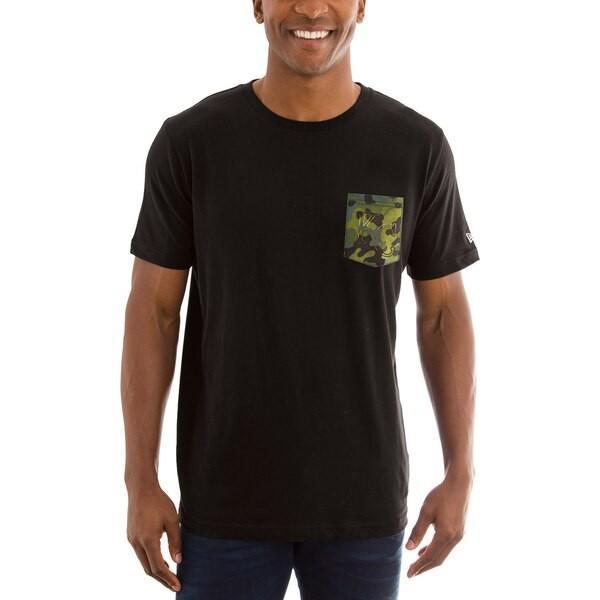 MLB ロイヤルズ Tシャツ Armed Special Forces カモ ポケット ニューエラ/New Era ブラック
