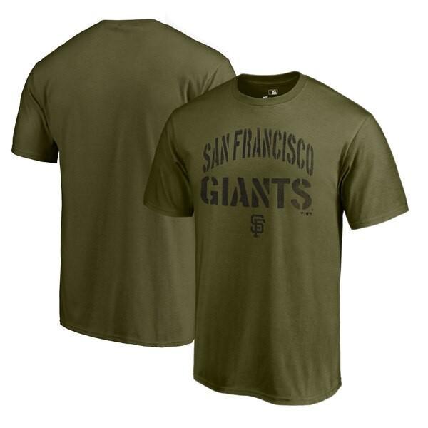 MLB ジャイアンツ Tシャツ 2019 カモ コレクション ジャングル グリーン