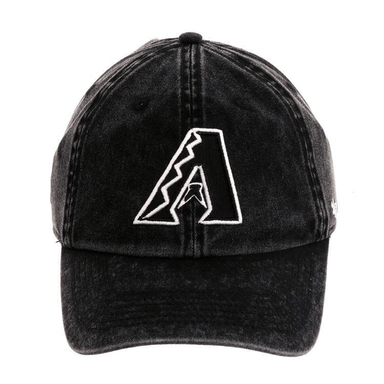 MLB ダイヤモンドバックス キャップ 帽子 クリーンナップ スノードリフト アジャスタブル 47 Brand ブラック