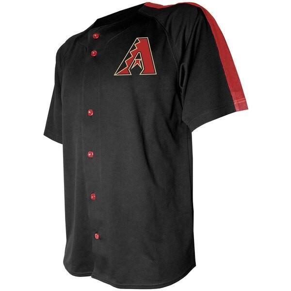 好きに MLB アリゾナ・ダイヤモンドバックス ユニフォーム/ジャージ ボタンダウン ロゴ MLB ボタンダウン ロゴ Stitches ブラック, ナカガワグン:1dcd06bb --- airmodconsu.dominiotemporario.com