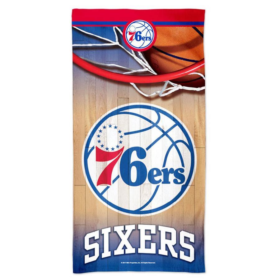 NBA 76ers ビーチタオル スペクトラ ウィンクラフト/WinCraft