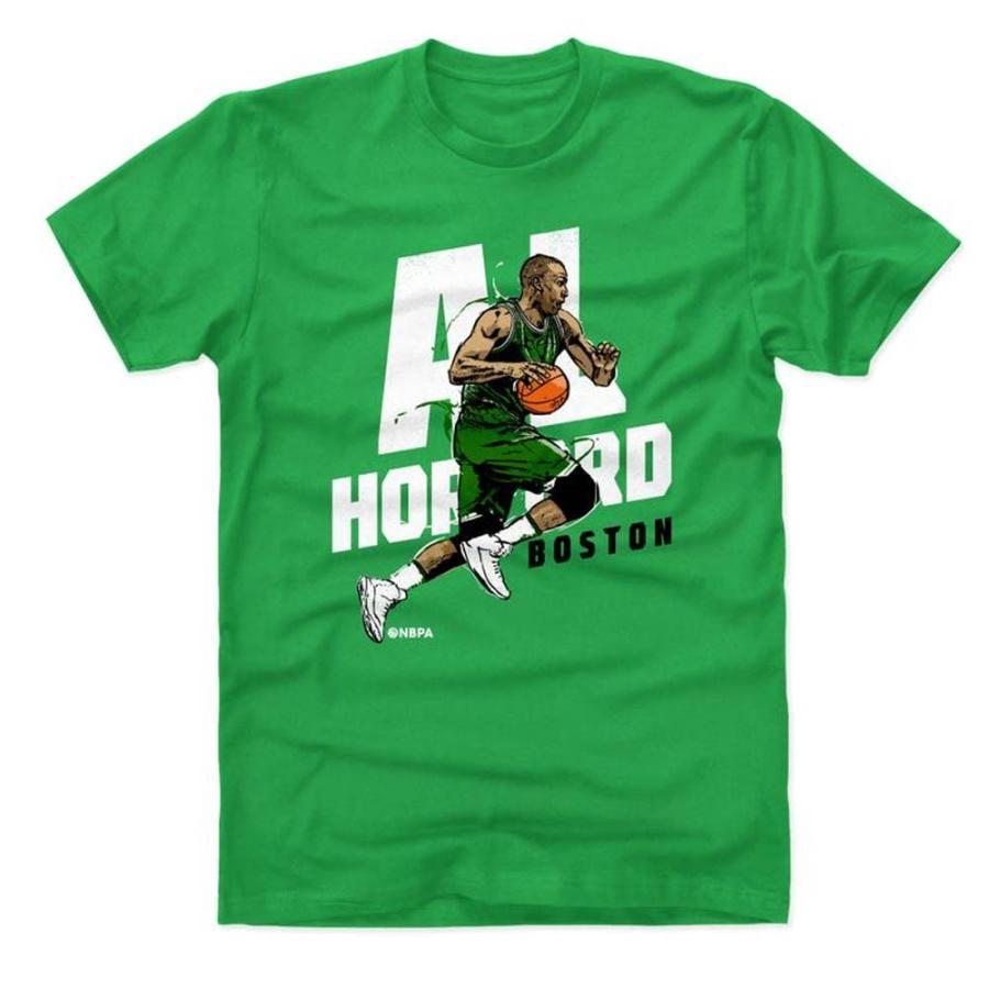 NBA セルティックス アル・ホーフォード Tシャツ プレーヤー アート ドライブ 500Level グリーン