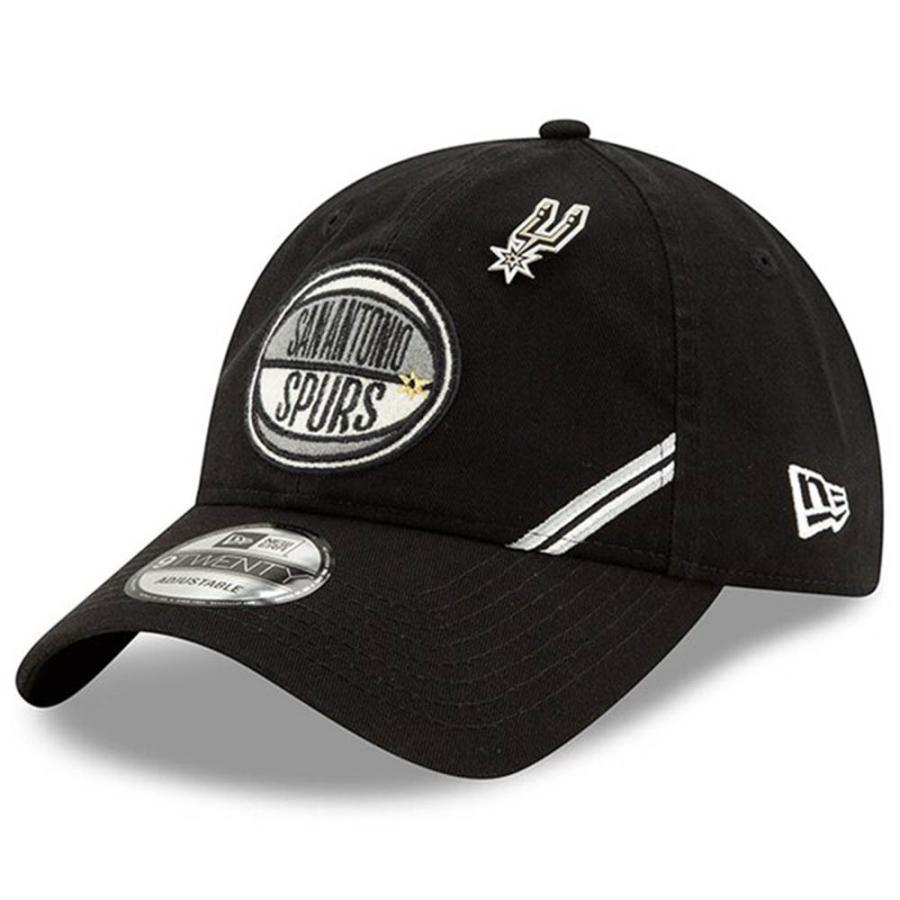 NBA スパーズ キャップ 帽子 2019 NBA ドラフト アジャスタブル ニューエラ/New Era ブラック