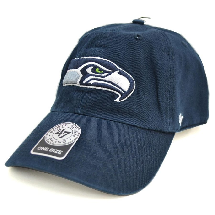 NFL シーホークス キャップ 帽子 Cleanup Adjustable キャップ 47 Brand【0702価格変更)】