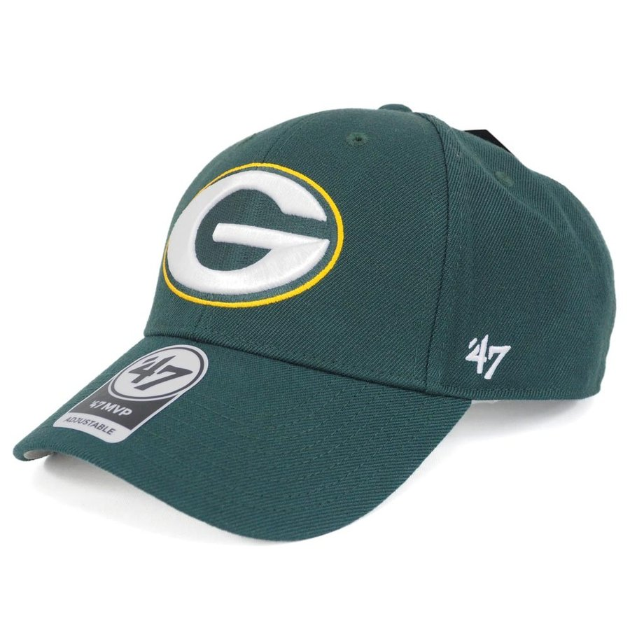 NFL パッカーズ MVP キャップ 帽子 47 Brand ダークグリーン