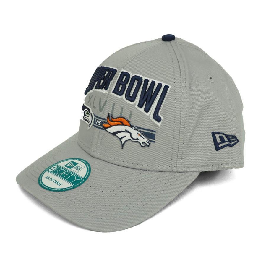 NFL 第48回スーパーボウル デュエリング ロゴ 9FORTY キャップ 帽子 ニューエラ/New Era グレー レアアイテム