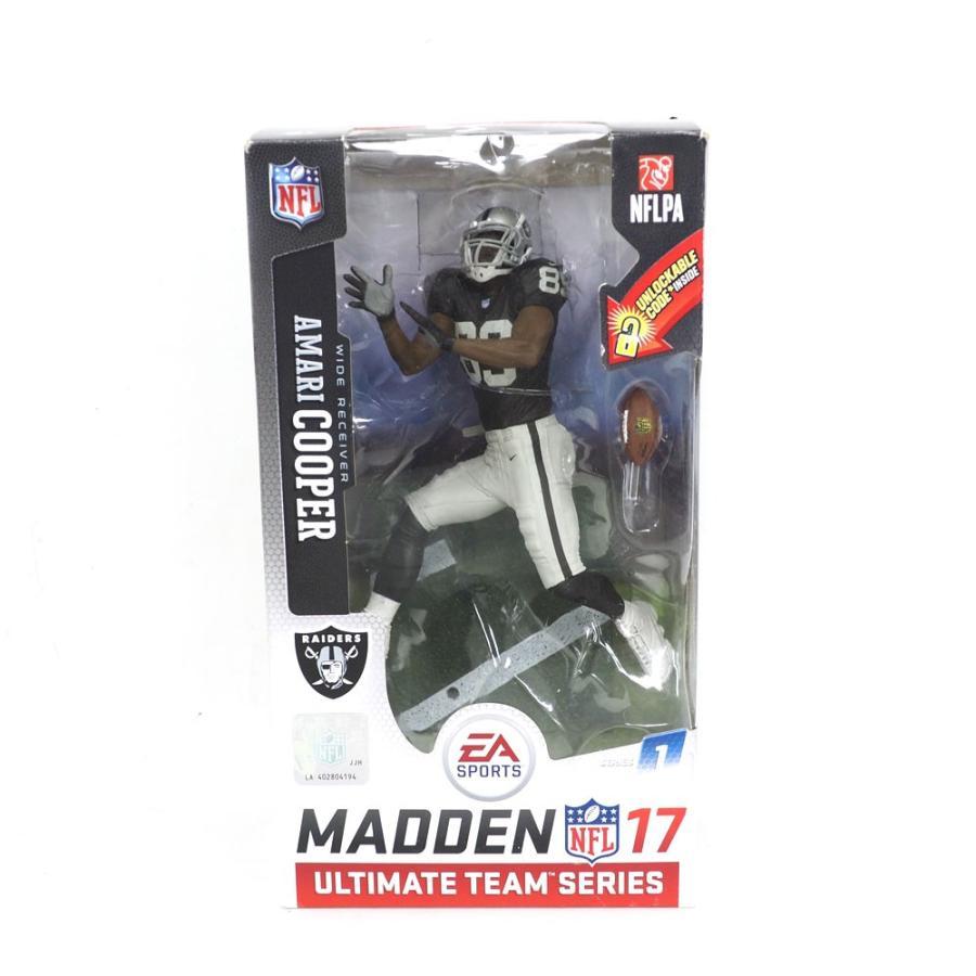 NFL レイダース アマリ・クーパー フィギュア EA スポーツ NFL 17 アルティメット チーム シリーズ マクファーレン/McFarlane ホーム レアアイテム