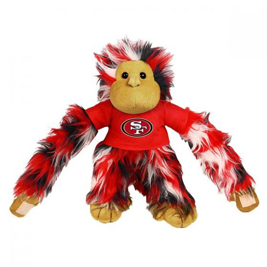 NFL 49ers フワフワ モンキー ぬいぐるみ Forever Collectibles