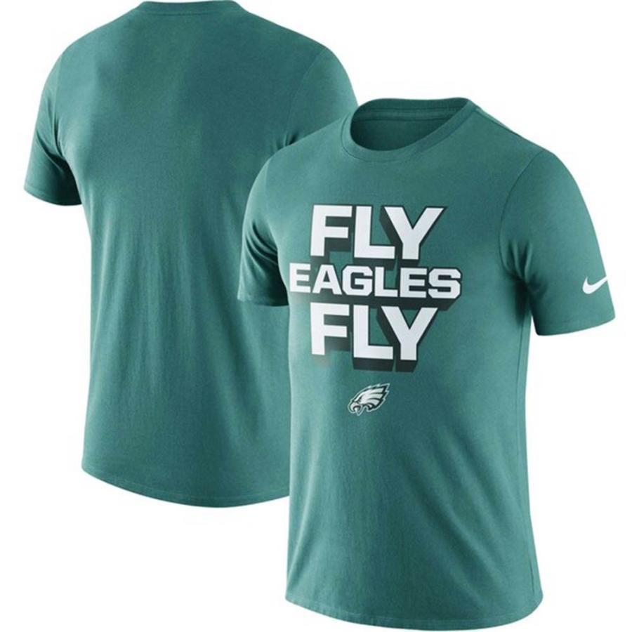 NFL イーグルス Tシャツ ローカル ロックアップ パフォーマンス ナイキ/Nike ミッドナイトグリーン
