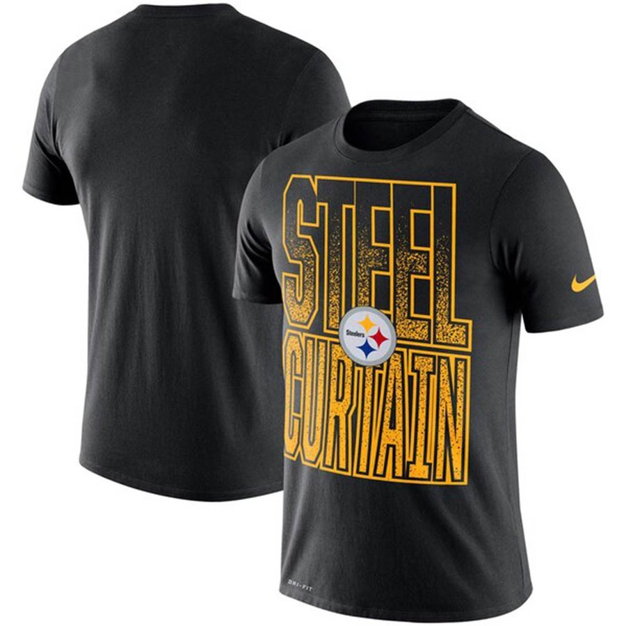 NFL スティーラーズ Tシャツ ローカル バービエイジ パフォーマンス ナイキ/Nike ブラック