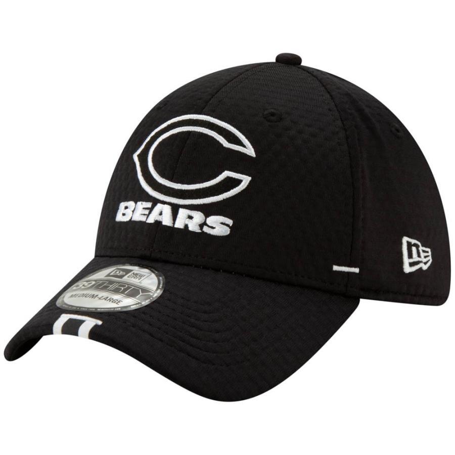 NFL ベアーズ キャップ 帽子 2019 サイドライン トレーニング キャンプ フレックス ニューエラ/New Era ブラック