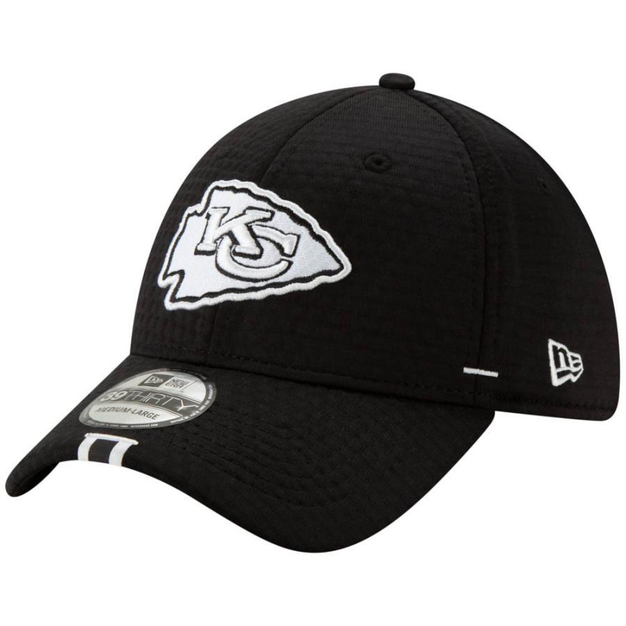 NFL チーフス キャップ 帽子 2019 サイドライン トレーニング キャンプ フレックス ニューエラ/New Era ブラック