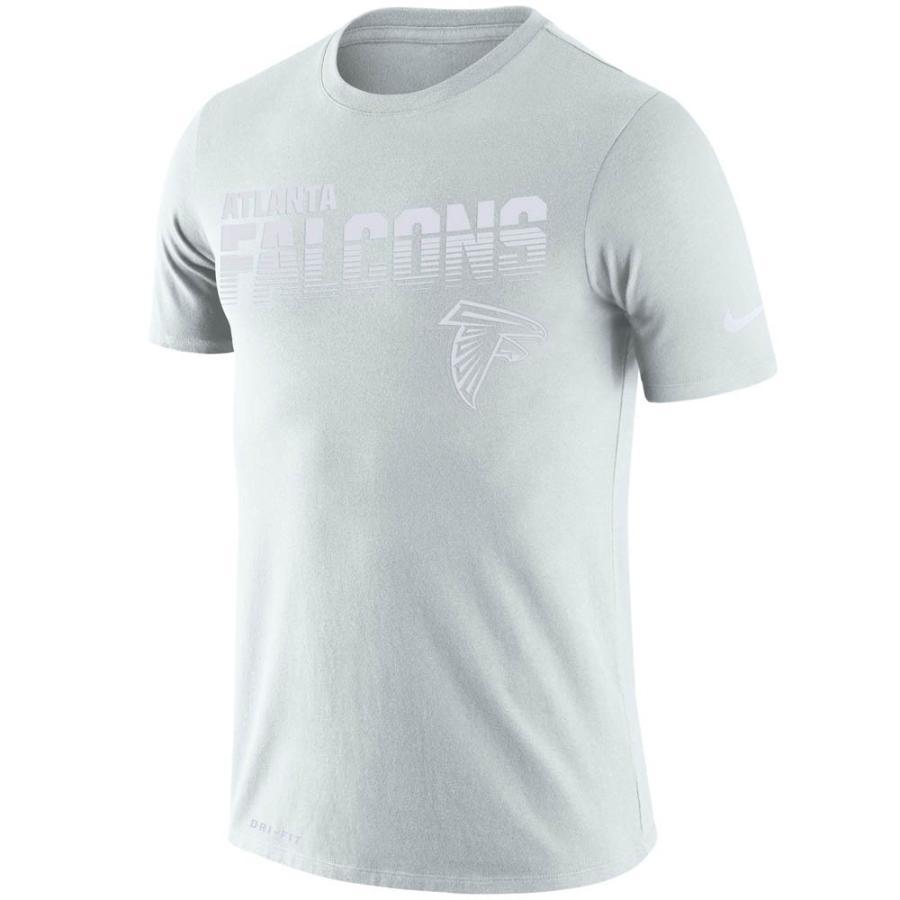NFL ファルコンズ Tシャツ 100周年 選手着用 サイドライン レジェンド Tシャツ ナイキ/Nike ホワイト