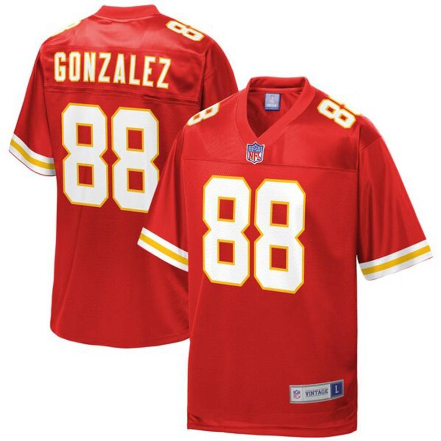 NFL トニー・ゴンザレス チーフス チーフス チーフス ユニフォーム/ジャージ 引退選手 レプリカ レッド 7bb