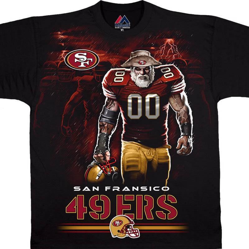 NFL 49ers Tシャツ トンネル ブラック【lb1910変更】