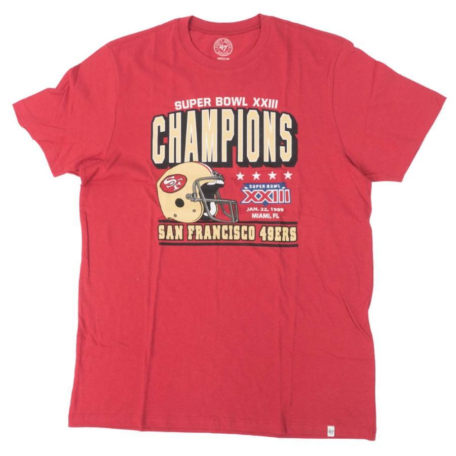 NFL 49ers Tシャツ スーパーボウル 23 チャンピオン 優勝 47Brand ワイン