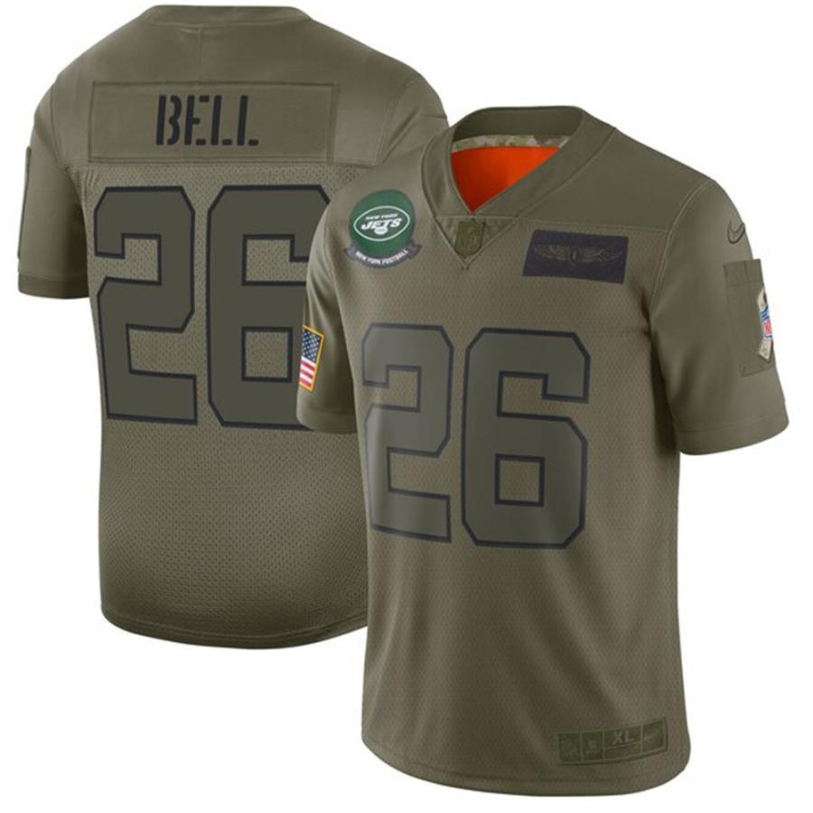 店舗良い NFL レビオン リミテッド・ベル ジェッツ ユニフォーム サルート/ジャージ 2019 サルート トゥ 2019 サービス リミテッド ナイキ/Nike カモ【1911NFL変更】, Familie-Plus:0e8ce4df --- persianlanguageservices.com