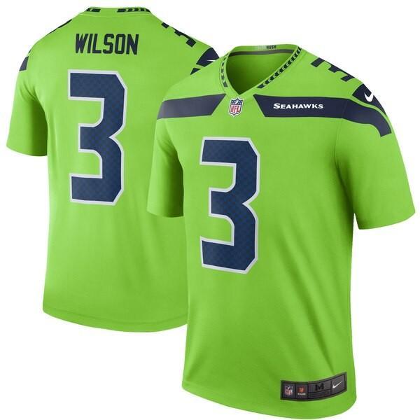 最新デザインの NFL ラッセル・ウィルソン レジェンド シーホークス ナイキ/Nike ユニフォーム/ジャージ カラーラッシュ レジェンド ナイキ NFL/Nike ネオングリーン, イオンリテールファッション:bc6c85c6 --- persianlanguageservices.com