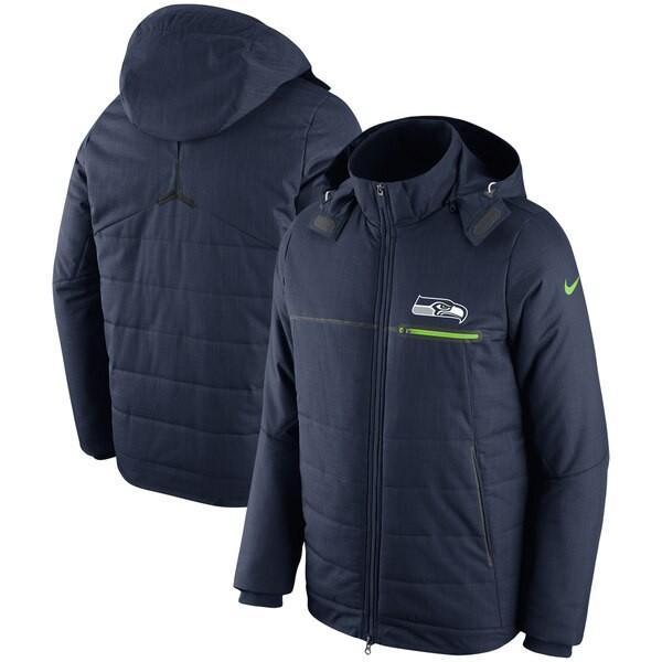 一流の品質 NFL シーホークス NFL ジャケット フルジップ/アウター サイドライン チャンプ ナイキ/Nike ドライブ フルジップ ナイキ/Nike カレッジネイビー, clothes tile:86241f0b --- airmodconsu.dominiotemporario.com