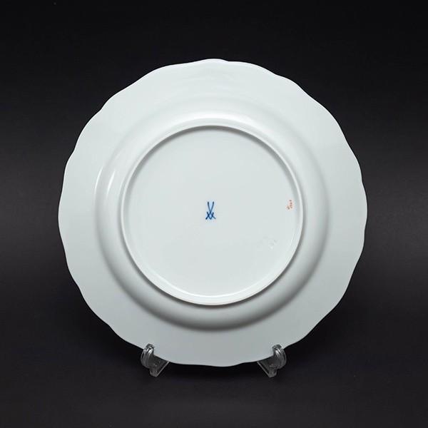 マイセン スキャタードフラワー(散らし小花) 20cmプレート(ピンクローズ)|selectors|04