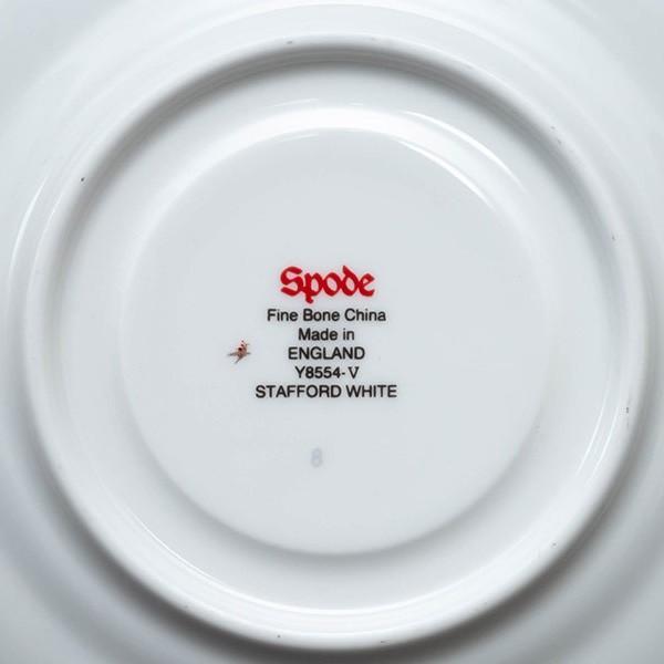 スポード スタッフォードホワイト ティーカップ&ソーサー|selectors|05