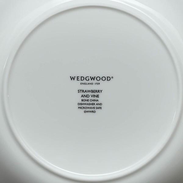 ウェッジウッド ストロベリー&バイン サラダソーサー|selectors|05