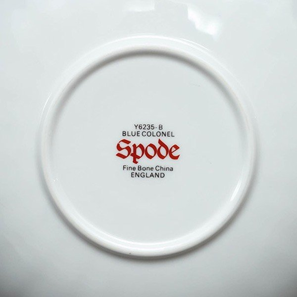 スポード ブルーコロネル コーヒーカップ&ソーサー selectors 05