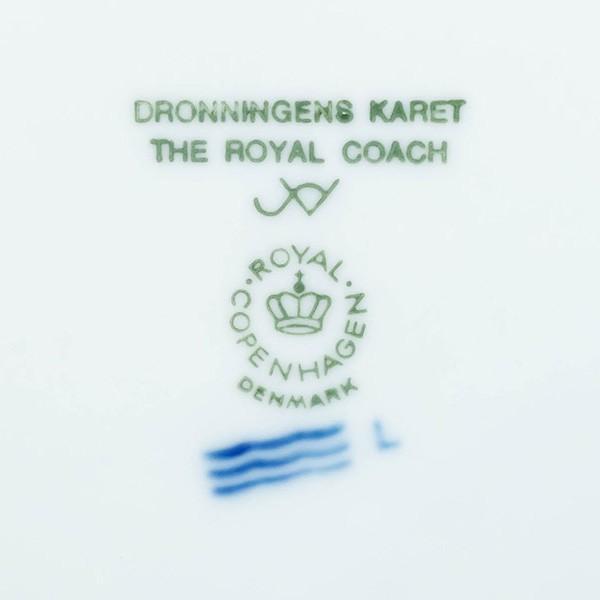 ロイヤル・コペンハーゲン イヤープレート(1992年)『The Royal Coach(女王の馬車)』|selectors|04