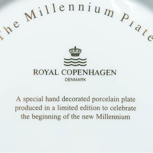 ロイヤル・コペンハーゲン ミレニアムプレート(2000年)|selectors|04