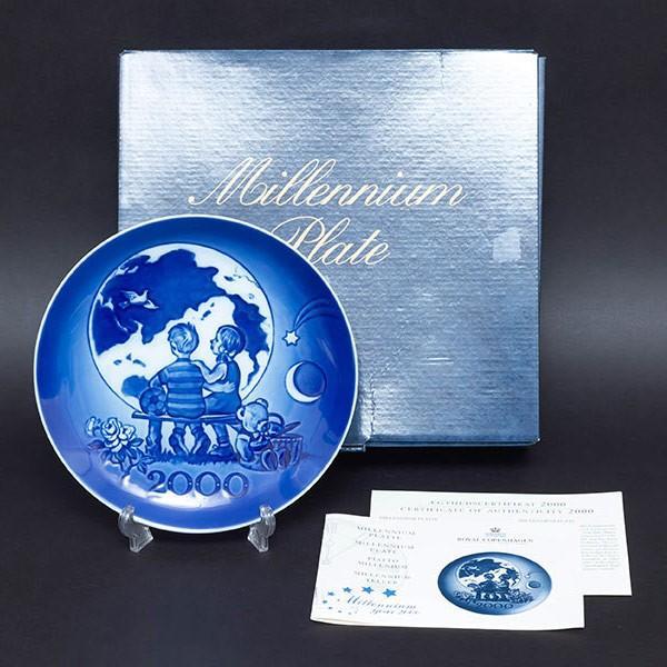 ロイヤル・コペンハーゲン ミレニアムプレート(2000年)|selectors|05