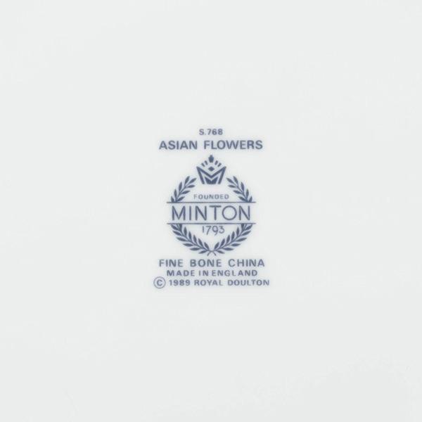 ミントン アジアンフラワーズ 27cmプレート selectors 04