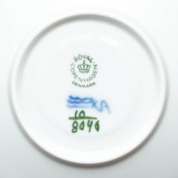 ロイヤル・コペンハーゲン ブルーフラワープレイン デミタスカップ&ソーサー|selectors|05