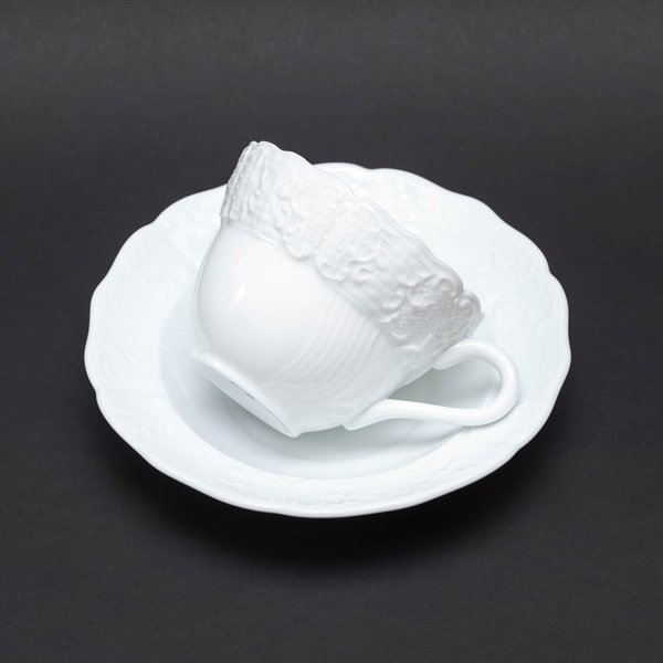 ヘレンド バロックホワイト カップ&ソーサー|selectors|04