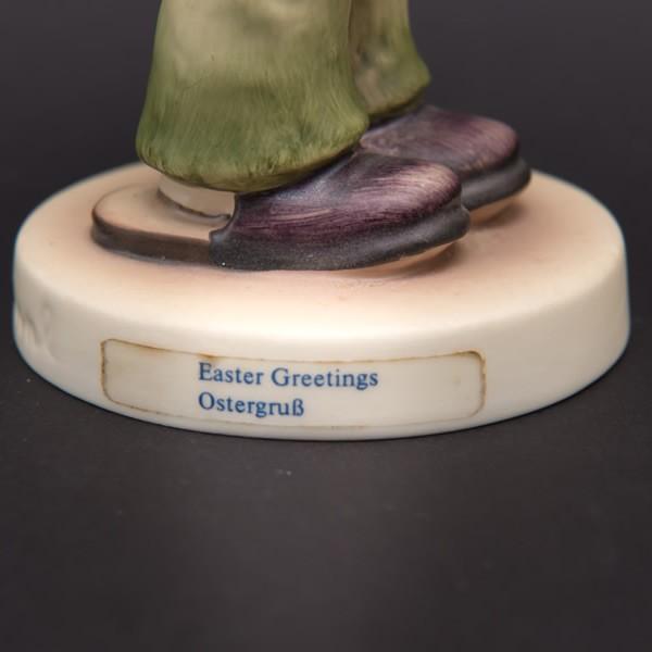 ゲーベル フンメル人形 『Easter Greetings(イースターのご挨拶)』|selectors|05