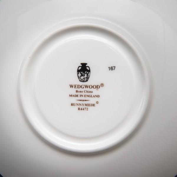 ウェッジウッド ラニーミード ティーカップ&ソーサー(リー) selectors 05
