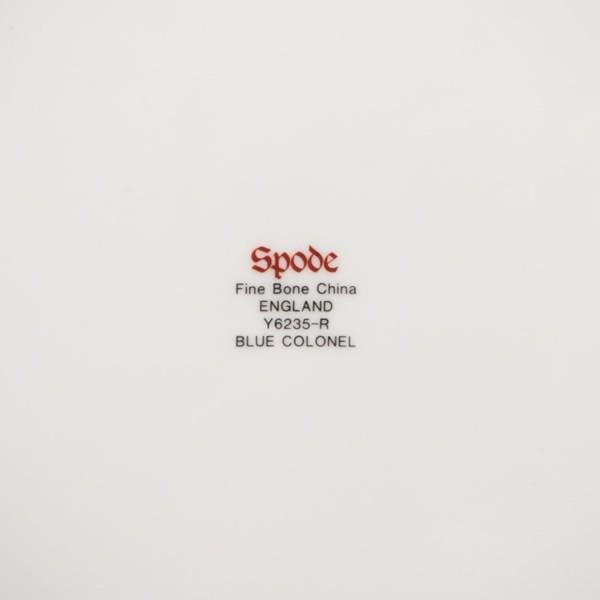 スポード ブルーコロネル 27cmプレート|selectors|04