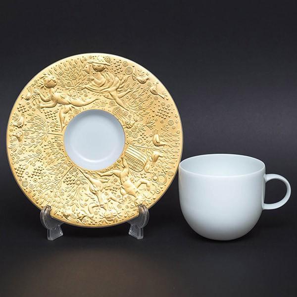ローゼンタール 魔笛(ゴールド) コーヒーカップ&ソーサー selectors 02