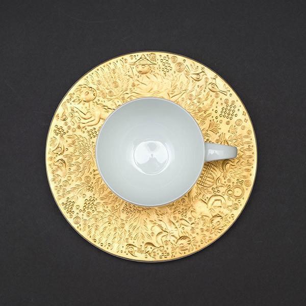 ローゼンタール 魔笛(ゴールド) コーヒーカップ&ソーサー selectors 03