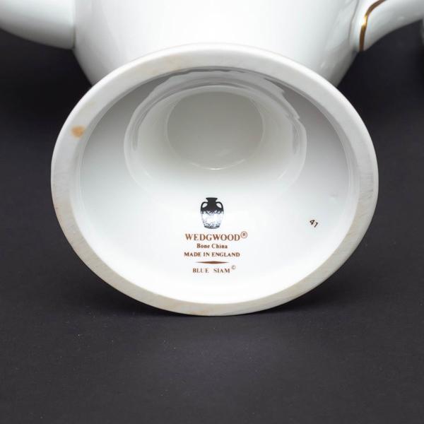 ウェッジウッド ブルーサイアム コーヒーポット|selectors|05