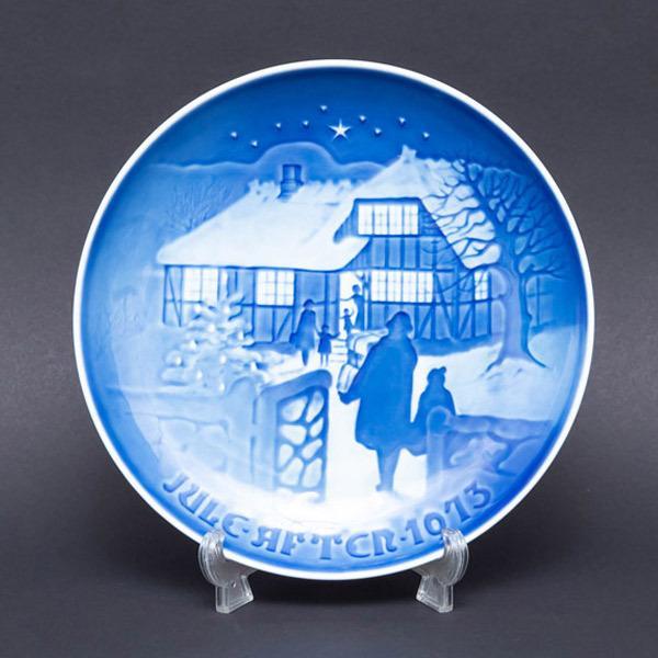 ビング・オー・グレンダール クリスマスプレート(1973年)『Country Christmas』 selectors