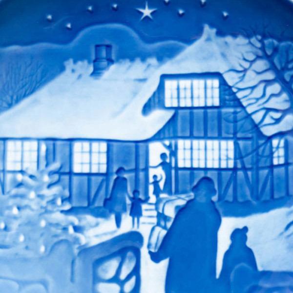 ビング・オー・グレンダール クリスマスプレート(1973年)『Country Christmas』 selectors 02