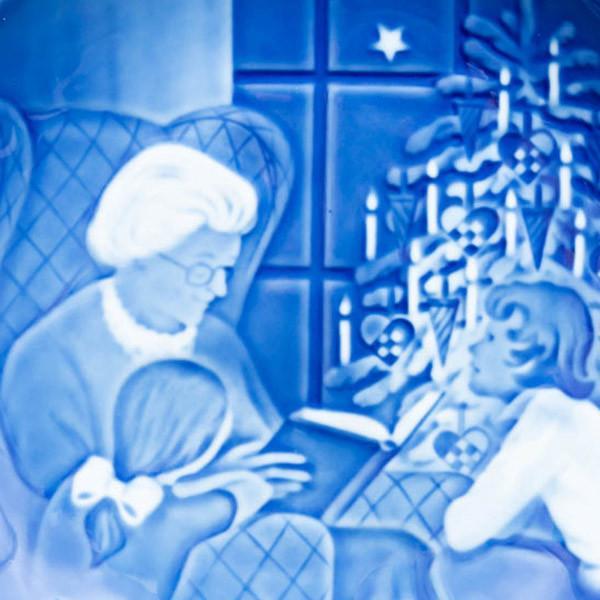 ビング・オー・グレンダール クリスマスプレート(1978年)『A Cristmas Tale』|selectors|02