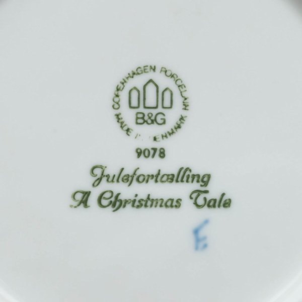 ビング・オー・グレンダール クリスマスプレート(1978年)『A Cristmas Tale』|selectors|04